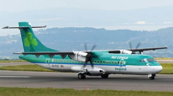 爱尔兰航空公司的一些航班受到斯托巴特航空公司关闭的打击