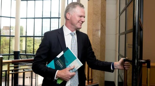"""""""爱尔兰国库管理局CEO表示经济将在明年初恢复到当前局势前的活动水平"""